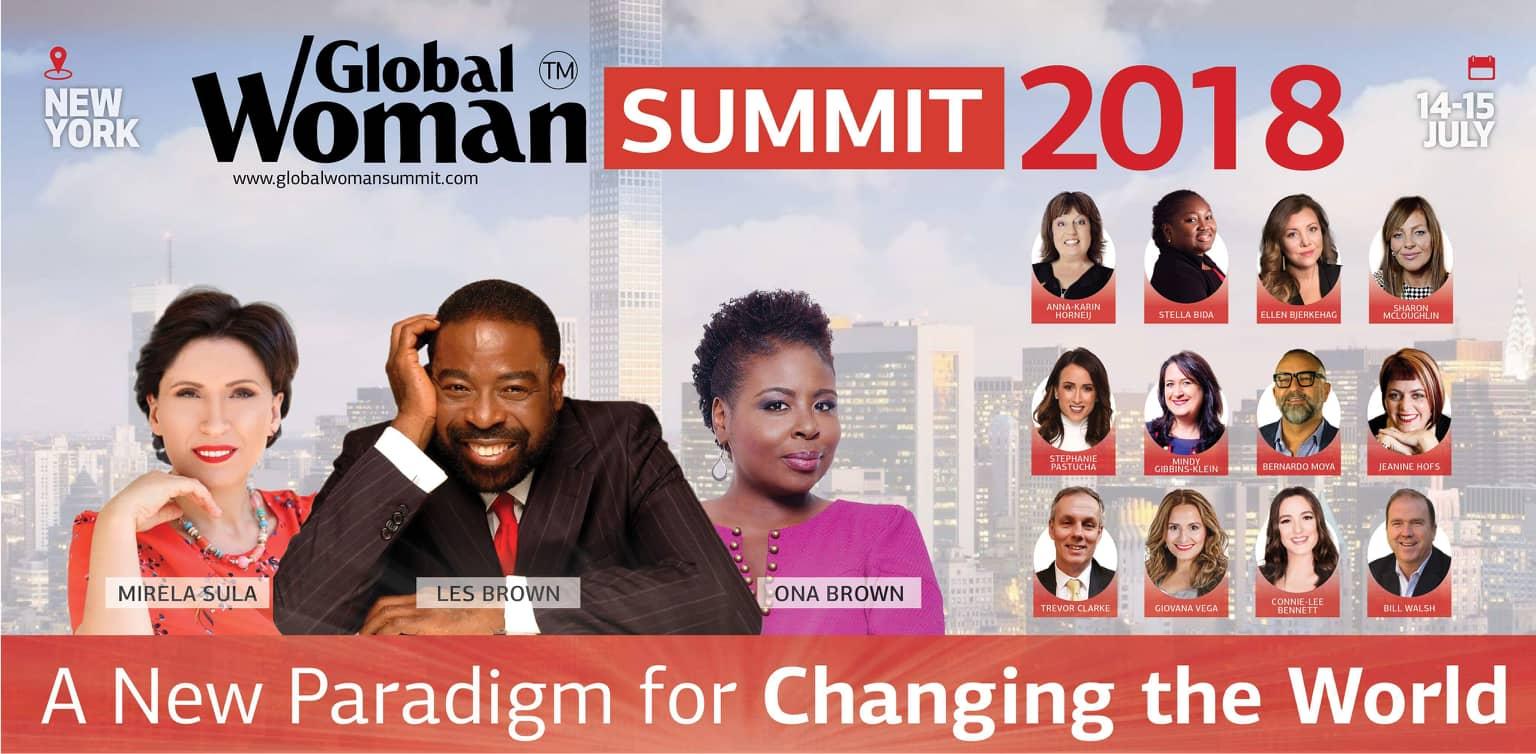 Global Woman Summit Les Brown, Ona Brown